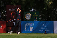 Kalle Samooja (FIN) during the first round of the Ras Al Khaimah Challenge Tour Grand Final played at Al Hamra Golf Club, Ras Al Khaimah, UAE. 31/10/2018<br />