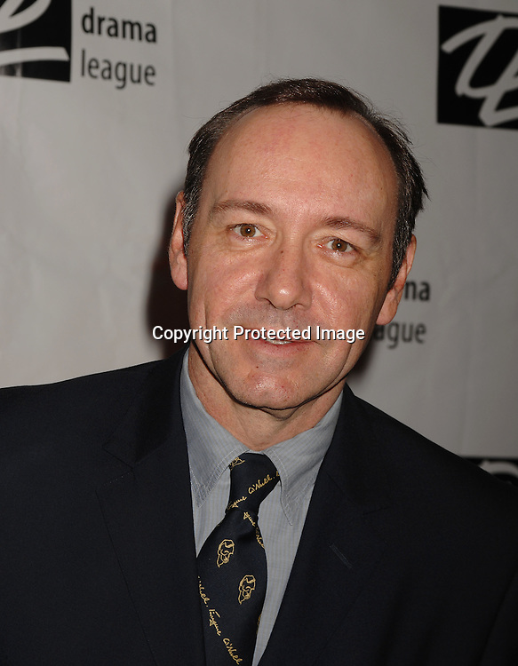 Kevin Spacey..posing for photographers at The Drama League Awards Ceremony and Luncheon on May 11, 2007 at The Marriott Marquis Hotel. ..Robin Platzer, Twin Images