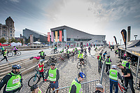 Picture by Allan McKenzie/SWpix.com - 24/09/2017 - Cycling - HSBC UK City Ride Liverpool - Albert Dock, Liverpool, England - General view, HSBC UK City Ride Hub.