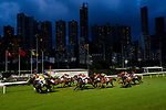 #3 Brett Prebble (2L) riding Star Majestic leads the race 1 during Hong Kong Racing at Happy Valley Racecourse on July 04, 2018 in Hong Kong, Hong Kong. Photo by Marcio Rodrigo Machado / Power Sport Images