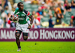 Kenya play Portugal in the Cup Quarter Final on Day 3 of the Cathay Pacific / HSBC Hong Kong Sevens 2013 on 24 March 2013 at Hong Kong Stadium, Hong Kong. Photo by Victor Fraile / The Power of Sport Images