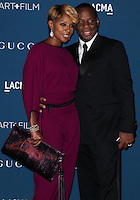 LOS ANGELES, CA - NOVEMBER 02: Mary J. Blige, Kendu Isaacs at LACMA 2013 Art + Film Gala held at LACMA on November 2, 2013 in Los Angeles, California. (Photo by Xavier Collin/Celebrity Monitor)