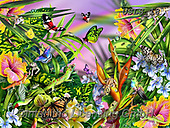 Lori, REALISTIC ANIMALS, REALISTISCHE TIERE, ANIMALES REALISTICOS, paintings+++++Geckos In the Wild_3_2013_72,USLS18,#A#, EVERYDAY ,puzzles