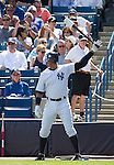Alex Rodriguez (Yankees),<br /> MARCH 4, 2015 - MLB : Alex Rodriguez of the New York Yankees stands on deck circle during a spring training baseball game against the Philadelphia Phillies at George M. Steinbrenner Field in Tampa, Florida, United States.<br /> (Photo by Thomas Anderson/AFLO) (JAPANESE NEWSPAPER OUT)
