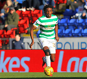 4th November 2017, McDiarmid Park, Perth, Scotland; Scottish Premiership football, St Johnstone versus Celtic; Derrick Boyata