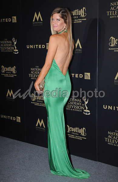 30 April 2017 - Pasadena, California - MIchelle Stafford. 44th Annual Daytime Emmy Awards - Pressroom held at Pasadena Civic Centerin Pasadena. Photo Credit: Birdie Thompson/AdMedia