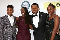 LOS ANGELES - FEB 11:  Nathan Anderson, Alvina Stewart, Anthony Anderson, Kyra Anderson at the 48th NAACP Image Awards Arrivals at Pasadena Civic Auditorium on February 11, 2017 in Pasadena, CA