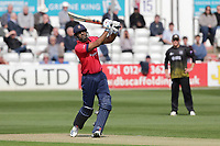 Varun Chopra hits 6 runs for Essex during Essex Eagles vs Gloucestershire, Royal London One-Day Cup Cricket at The Cloudfm County Ground on 7th May 2019