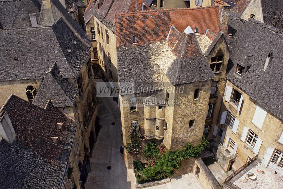 Europe/France/Aquitaine/24/Dordogne/Vallée de la Dordogne/Périgord/Périgord Noir/Sarlat-la-Canéda: Hôtel de Vassal (XVème)