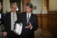 May 28,2013 File Photo -   Jacques Bergeron, general auditor, Montreal City (M)  unveil his report for the year 2012