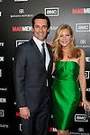LOS ANGELES, CA - MAR 14: Jon Hamm, Jennifer Westfeldt at AMC's special screening of 'Mad Men' season 5 held at ArcLight Cinemas Cinerama Dome on March 14, 2012 in Los Angeles, California