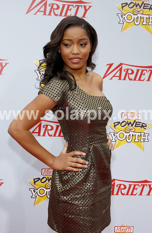 **ALL ROUND PICTURES FROM SOLARPIX.COM**.**SYNDICATION RIGHTS FOR UK, AUSTRALIA, DENMARK, PORTUGAL, S. AFRICA, SPAIN & DUBAI (U.A.E) ONLY**.arrivals for the Variety's 3rd Annual Power of Youth Event at the Paramount Pictures Studios, Hollywood, CA, USA. 5 December 2009..This pic: Keke Palmer..JOB REF: 10364 PHZ Gaboury   DATE: 05_12_2009.**MUST CREDIT SOLARPIX.COM OR DOUBLE FEE WILL BE CHARGED**.**MUST NOTIFY SOLARPIX OF ONLINE USAGE**.**CALL US ON: +34 952 811 768 or LOW RATE FROM UK 0844 617 7637**