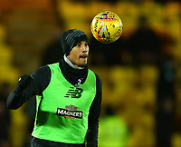 4th March 2020; Almondvale Stadium, Livingston, West Lothian, Scotland; Scottish Premiership Football, Livingston versus Celtic; Christopher Jullien of Celtic during the warm up