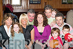 FAMILY TIME: The Foley family from Killorglin enjoying New Year's Eve in Bunkers Bar, Killorglin. L-r: Ann, Hannah, Debra, Pat, Lorraine, Gerard, Robyn, Brenna, Batty and Owen.   Copyright Kerry's Eye 2008
