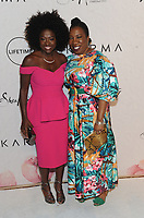 NEW YORK, NY - APRIL 13: Viola Davis and Tarana Burke at Variety's Power Of Women: New York at Cipriano Wall Street in New York City on April 13, 2018. <br /> CAP/MPI/PAL<br /> &copy;PAL/MPI/Capital Pictures