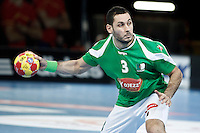 Algeria's Omar Chehbour during 23rd Men's Handball World Championship preliminary round match.January 15,2013. (ALTERPHOTOS/Acero) /NortePhoto