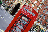 Red Phone Box in London, United Kingdom