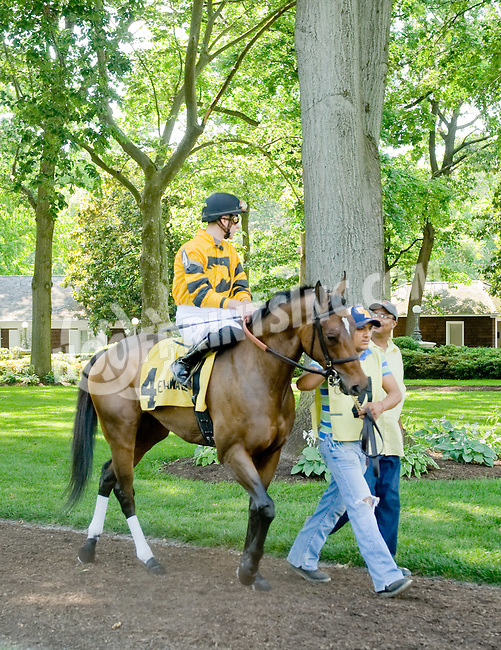 Culotte before The Beautiful Day Stakes at Delaware Park on 5/31/12