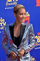 SANTA MONICA, USA. June 16, 2019: Jada Pinkett Smith at the 2019 MTV Movie & TV Awards at Barker Hangar, Santa Monica.<br /> Picture: Paul Smith/Featureflash