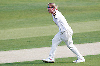 Simon Harmer of Essex appeals in vain for the wicket of Heino Kuhn during Essex CCC vs Kent CCC, Bob Willis Trophy Cricket at The Cloudfm County Ground on 1st August 2020