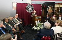 Ribbon cutting ceremony for the opening on the Ulysses S. grant Presidential Library<br />  (photo by Marco Lopez / &copy; Mississippi State University)