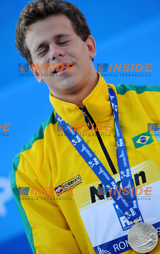 Roma 1st August 2009 - 13th Fina World Championships From 17th to 2nd August 2009....Swimming semifinals..Men's 50m freestyle ..Cesar Cielo Filho (BRA) gold medal and new world record....photo: Roma2009.com/InsideFoto/SeaSee.com