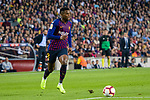 Nelson Semedo of FC Barcelona in action during the La Liga 2018-19 match between FC Barcelona and Sevilla FC at Camp Nou Stadium on October 20 2018 in Barcelona, Spain. Photo by Vicens Gimenez / Power Sport Images