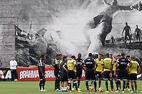 SAO PAULO, SP 25 DE OUTUBRO 2013 - TREINO CORINTHIANS - O time do Corinthians, durante o  treino de hoje, 25, no Ct. Dr. Joaquim Grava, na Zona Leste da Capital. Foto: Paulo Fischer/Brazil Photo Press.