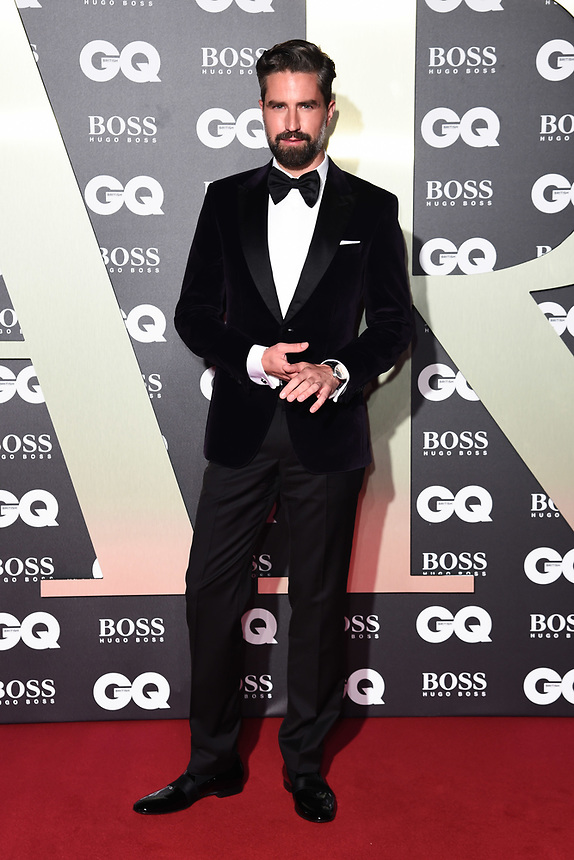 Jack Guinness<br /> arriving for the GQ Men of the Year Awards 2019 in association with Hugo Boss at the Tate Modern, London<br /> <br /> ©Ash Knotek  D3518 03/09/2019