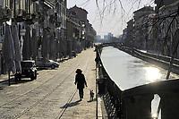 - la città di Milano dopo il primo mese di blocco totale e quarantena a causa dell'epidemia di Coronavirus.<br /> <br /> <br /> <br /> - the city of Milan after the first month of total blockade and quarantine due to the Coronavirus epidemic.