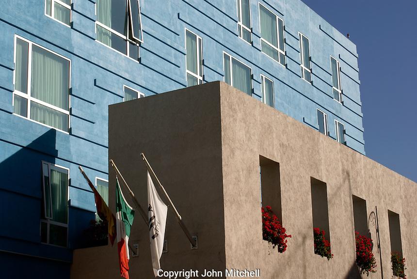 NH Puebla Hotel  in the city of Puebla, Mexico. The historical center of Puebla is a UNESCO World Heritage Site..