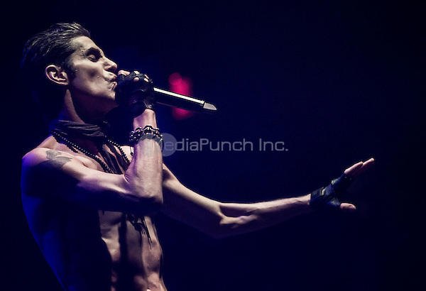 LAS VEGAS, NV - May 10 :  Perry Farrell pictured as Jane's Addiction performs at Brooklyn Bowl Las Vegas at The Linq in Las Vegas, NV on May 10, 2014. Credit: RTNEK/MediaPunch ***HOUSE COVERAGE***