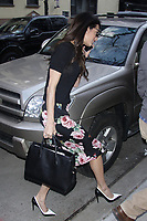 NEW YORK, NY - APRIL 11: Amal Clooney seen on April 11, 2018 in New York City. <br /> CAP/MPI/DC<br /> &copy;DC/MPI/Capital Pictures