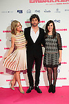 "Alexandra Jimenez, Paco Leon and Juana Macias attends to the premiere of the film ""Embarazados"" at Capitol Cinemas in Madrid, January 27, 2016.<br /> (ALTERPHOTOS/BorjaB.Hojas)"