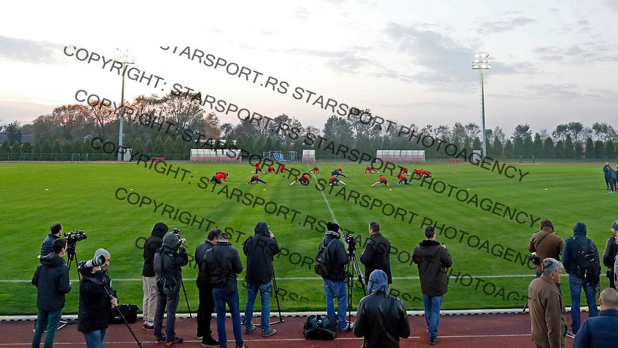 Reprezentacija Srbija Trening Stara Pazova FSS 6.11.1017. Novembar 6. 2017. (credit image & photo: Pedja Milosavljevic / STARSPORT)