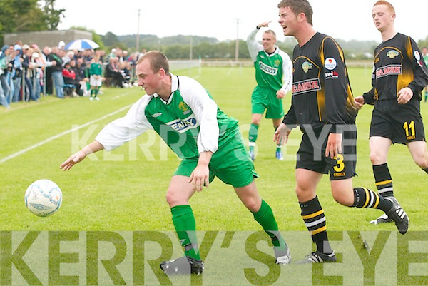 Kerry v Cork City in their U/21 Eircom League Cup clash at Listowel on Sunday afternoon..