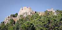 Le mura del Castello di Geraci..The wall of Geraci castle.