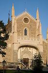 San Jeronimo el Real Church next to the Prado Art Museum, Madrid, Spain