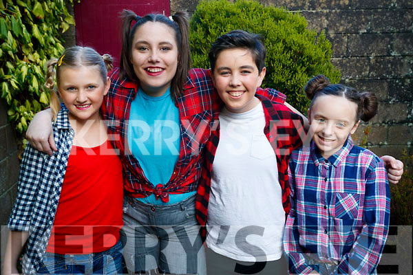 Paivi Dowds, Chelsea Lyons, Hugh Murray, Sinead Carr, pictured at Bryan Carr School of Performing Arts annual Christmas Show 'Kris Kringle Christmas', held at Siamsa Tire, Tralee on Sunday afternoon last.