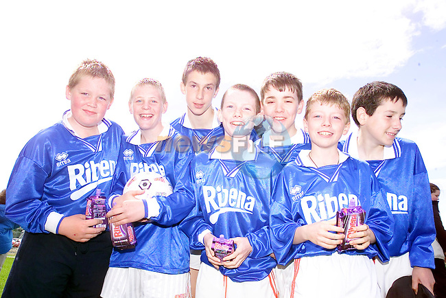 Scoil Mhuire Fatima at the Ribena Finals in the MDl Navan, paschal Foyle, Sean O'Beirne, Sean Ramsbottom, Darragh McEvoy, Eoin Ryan, James Whealan, Joseph O'Connor.Picture Fran Caffrey Newsfile...This Picture is sent to you by:..Newsfile Ltd.The View, Millmount Abbey, Drogheda, Co Louth, Ireland..Tel: +353419871240.Fax: +353419871260.GSM: +353862500958.ISDN: +353419871010.email: pictures@newsfile.ie.www.newsfile.ie