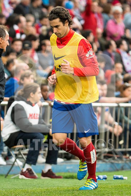 Atletico de Madrid's Tiago during La Liga Match at Vicente Calderon Stadium in Madrid. May 14, 2016. (ALTERPHOTOS/BorjaB.Hojas)