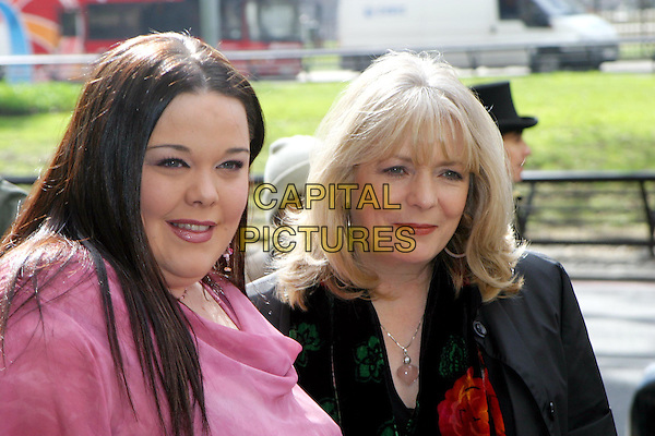 LISA RILEY & ALISON STEADMAN.TRIC Awards at Le Meridien Grosvenor House.09 March 2004.headshot, portrait.www.capitalpictures.com.sales@capitalpictures.com.© Capital Pictures.