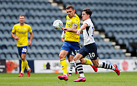 Preston North End's Josh Harrop vies for possession with Birmingham City's Harlee Dean<br /> <br /> Photographer Alex Dodd/CameraSport<br /> <br /> The EFL Sky Bet Championship - Leeds United v Barnsley - Thursday 16th July 2020 - Elland Road - Leeds<br /> <br /> World Copyright © 2020 CameraSport. All rights reserved. 43 Linden Ave. Countesthorpe. Leicester. England. LE8 5PG - Tel: +44 (0) 116 277 4147 - admin@camerasport.com - www.camerasport.com<br /> <br /> Photographer Alex Dodd/CameraSport<br /> <br /> The EFL Sky Bet Championship - Preston North End v Birmingham City - Saturday 18th July 2020 - Deepdale Stadium - Preston<br /> <br /> World Copyright © 2020 CameraSport. All rights reserved. 43 Linden Ave. Countesthorpe. Leicester. England. LE8 5PG - Tel: +44 (0) 116 277 4147 - admin@camerasport.com - www.camerasport.com