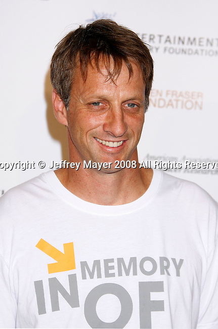 HOLLYWOOD, CA. - September 05: Tony Hawk arrives at Stand Up For Cancer at The Kodak Theatre on September 5, 2008 in Hollywood, California.