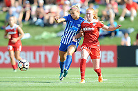 Boyds, MD - Saturday August 12, 2017: Rosie White, Tori Huster during a regular season National Women's Soccer League (NWSL) match between the Washington Spirit and The Boston Breakers at Maureen Hendricks Field, Maryland SoccerPlex.