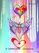 Marie, MODERN, MODERNO, paintings+++++,USJO137,#N# Joan Marie abstract heart