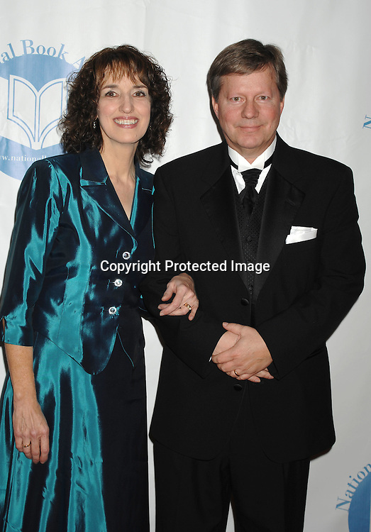 Martine Leavitt and HL Mix ..at The National Book Awards Gala on November 15, 2006 ..at The Marriott Marquis Hotel in New York City...Photo by Robin Platzer, Twin Images