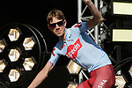 Ilnur Zakarin (RUS) Team Katusha Alpecin at the team presentation held on the Grand-Place before the 2019 Tour de France starting in Brussels, Belgium. 4th July 2019<br /> Picture: Colin Flockton | Cyclefile<br /> All photos usage must carry mandatory copyright credit (© Cyclefile | Colin Flockton)