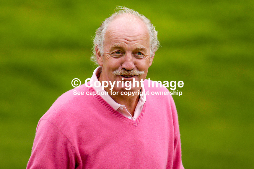 Dermot Desmond, Irish businessman, tax exile in Gibraltar, large shareholder in Glasgow Celtic, previously large shareholder in Manchester United, joint owner of Sandy Lane Hotel, owner of London City Airport, etc. Ref: 200509296986...Copyright Image from Victor Patterson, 54 Dorchester Park, Belfast, UK, BT9 6RJ..Tel: +44 28 9066 1296.Mob: +44 7802 353836.Voicemail +44 20 8816 7153.Skype: victorpattersonbelfast.Email: victorpatterson@mac.com.Email: victorpatterson@ireland.com (back-up)..IMPORTANT: If you wish to use this image or any other of my images please go to www.victorpatterson.com and click on the Terms & Conditions. Then contact me by email or phone with the reference number(s) of the image(s) concerned.