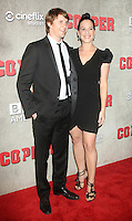 NEW YORK, NY - August 15, 2012: Tom Weston-Jones and Franka Potente at the premiere of BBC America's Copper at the Museum of Modern Art in New York City. © RW/MediaPunch Inc. /NortePhoto.com<br />